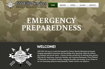 GSS Elite Services Web Design