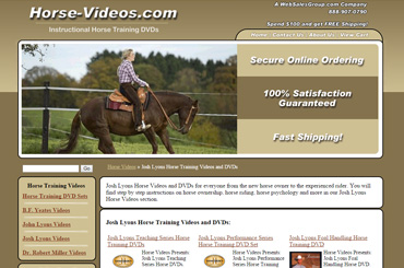 Horse Videos eCommerce Website Design