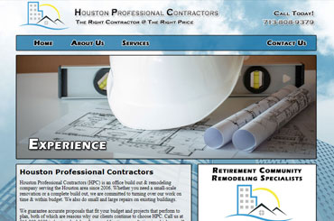 Houston Pro Contractor Web Design