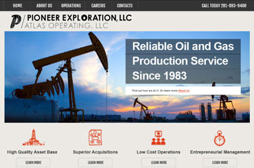Peco Gas Web Design