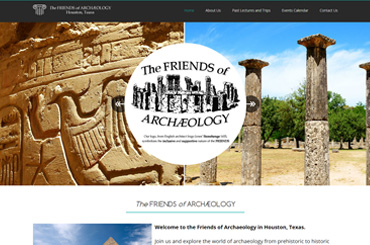 Friends Of Archaeology Web Design