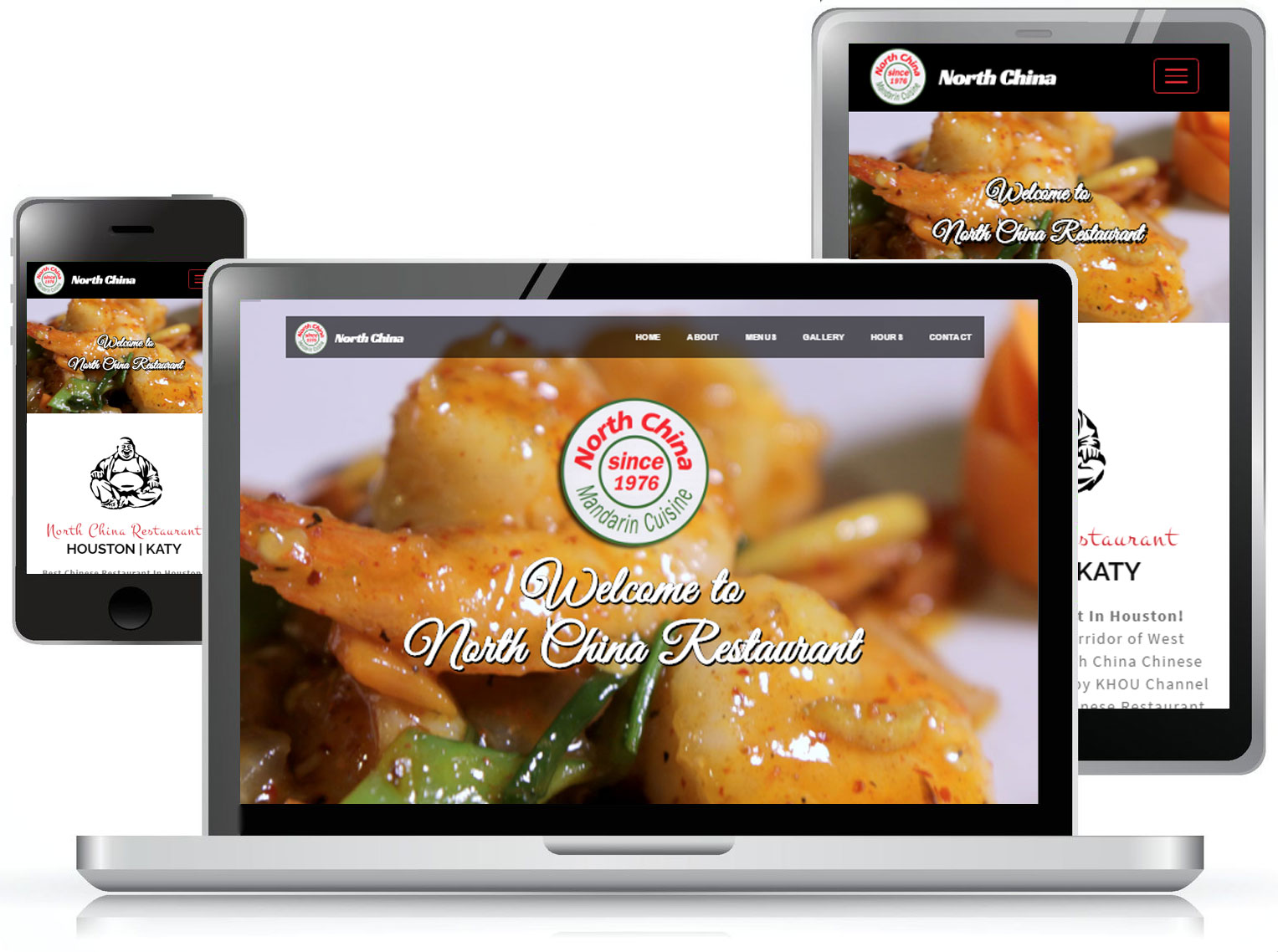 North China Restaurant Web Design